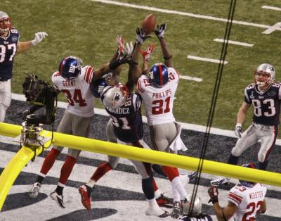 Super Bowl XLVI Last Attempt