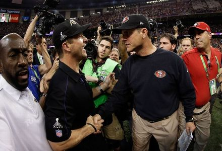 John & Jim Harbaugh