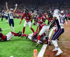 James White final TD